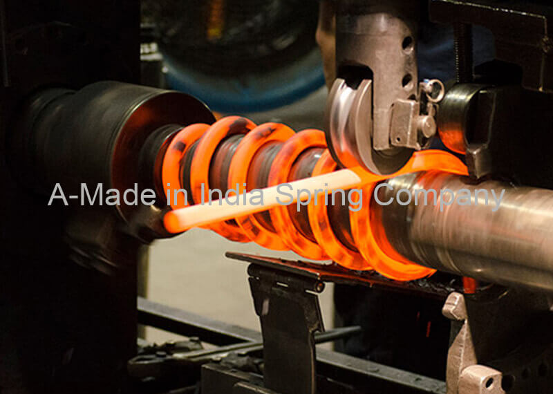 Hot Coil Spring Manufacturing Company in India